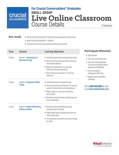 Crucial Conversations for Graduates Course Details